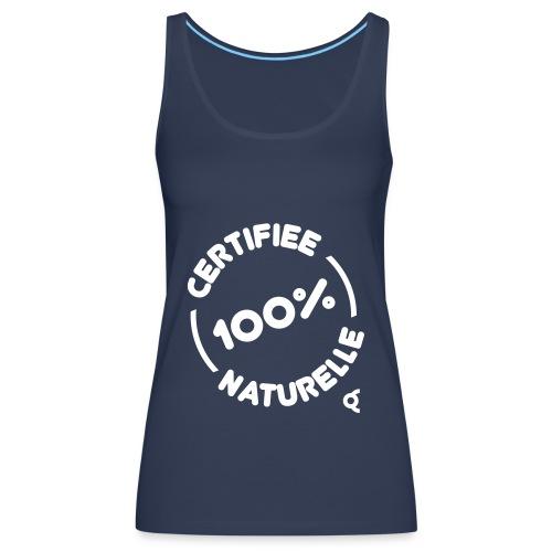 100pct naturelle - Débardeur Premium Femme