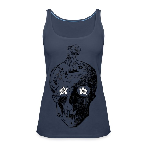 Girl on the Skull McKoy - Camiseta de tirantes premium mujer