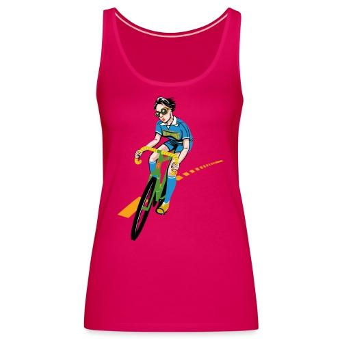 The Bicycle Girl - Frauen Premium Tank Top