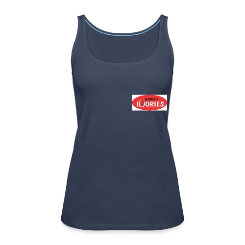 P Ivories Logo - Frauen Premium Tank Top