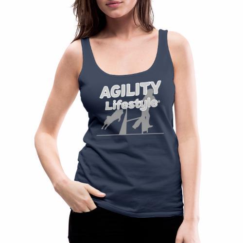 Agility Dogagility Hundesport Hundetraining - Frauen Premium Tank Top
