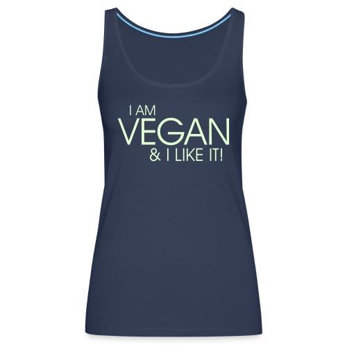 I am vegan and I like it - Frauen Premium Tank Top
