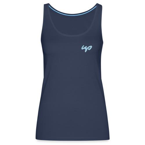 up logo mit bezier kurven fuer shop - Frauen Premium Tank Top