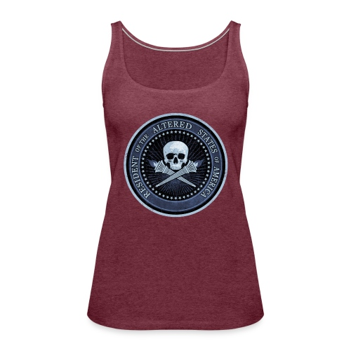 RESIDENT OF THE ALTERED STATES OF AMERICA. - Women's Premium Tank Top