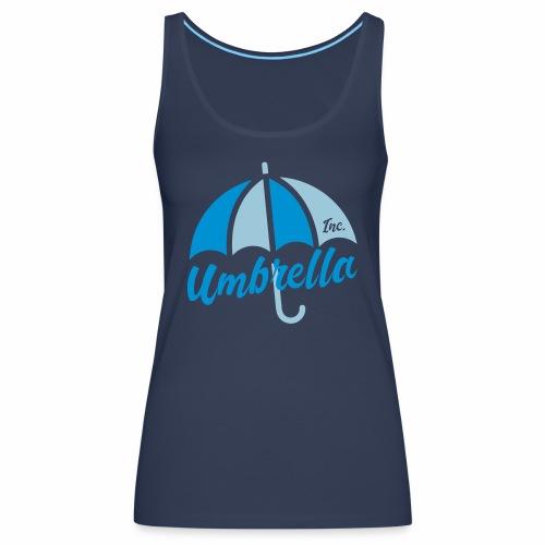 Umbrella Inc. Tipo under logo - Camiseta de tirantes premium mujer