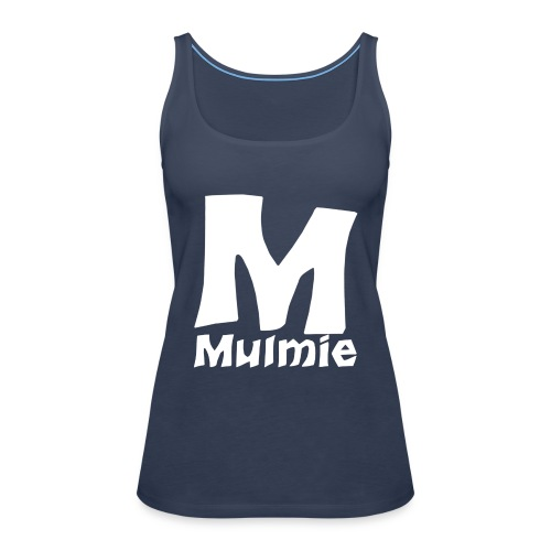 Mmulmie white png - Vrouwen Premium tank top