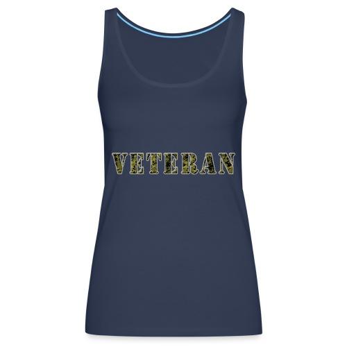 VeteranCamoM84 - Dame Premium tanktop