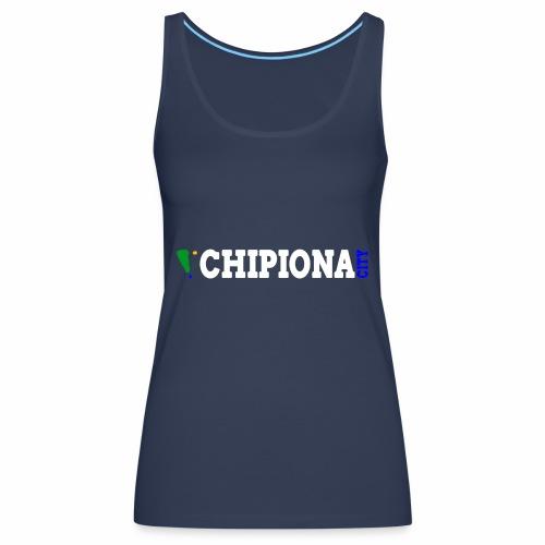 Chipiona City horizontal - Camiseta de tirantes premium mujer