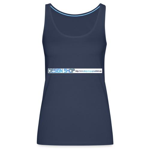 ny logo lang - Premium singlet for kvinner