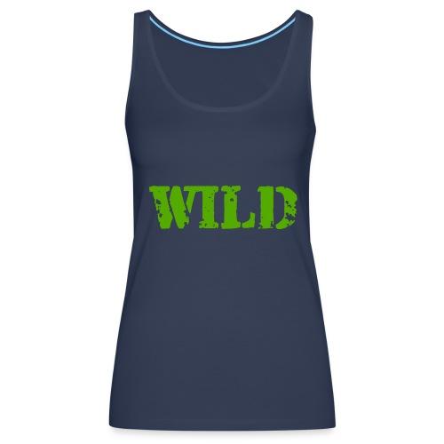 wild - Canotta premium da donna