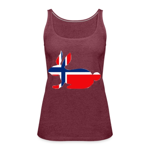norwegian bunny - Women's Premium Tank Top