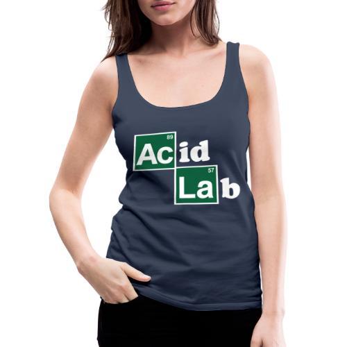 Acid Lab - Camiseta de tirantes premium mujer