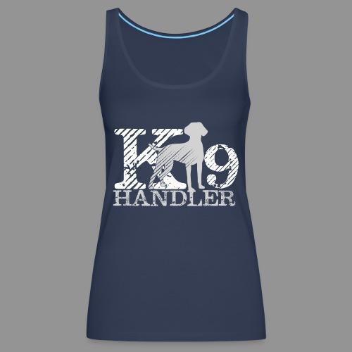 K-9 Handler - German Shorthaired Pointer - Women's Premium Tank Top