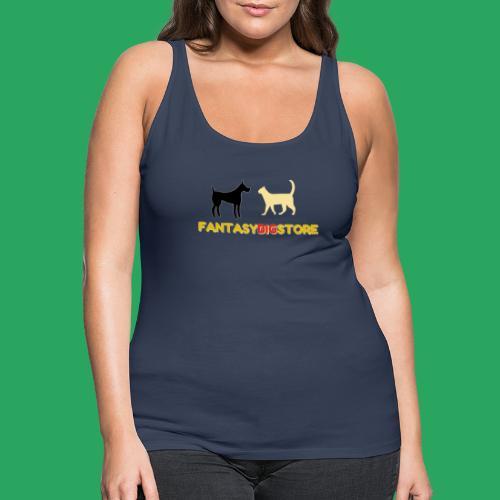 fantasy big store tshirt - Canotta premium da donna