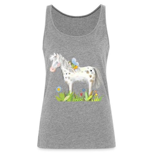 Fee. Das Pferd und die kleine Reiterin. - Frauen Premium Tank Top