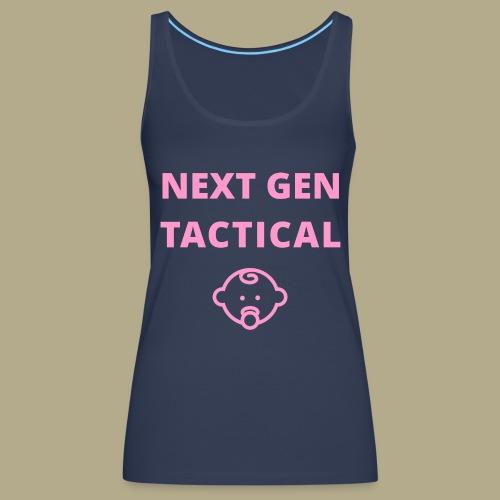 Tactical Baby Girl - Vrouwen Premium tank top