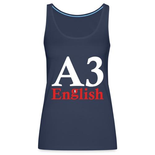 A3Small logo 2 - Women's Premium Tank Top