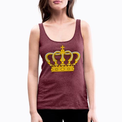 Golden crown - Women's Premium Tank Top
