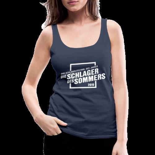 Die Schlager des Sommers 2019 - Festivalshirt - Frauen Premium Tank Top
