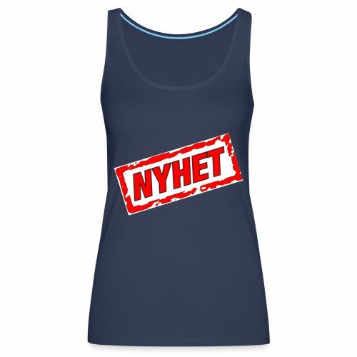 NYHET - Premiumtanktopp dam