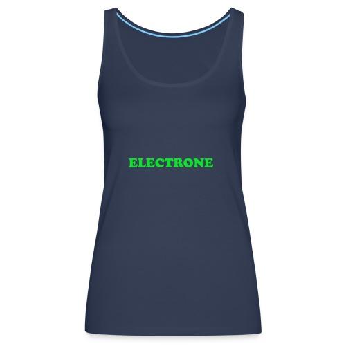 Classic ELECTRONE T SHIRT - Vrouwen Premium tank top