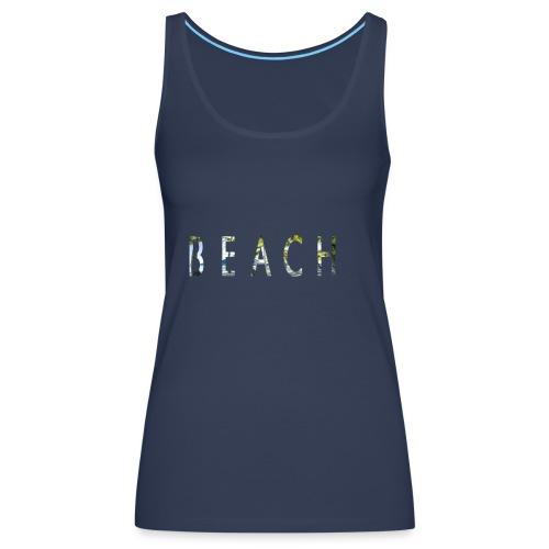 beach - Camiseta de tirantes premium mujer