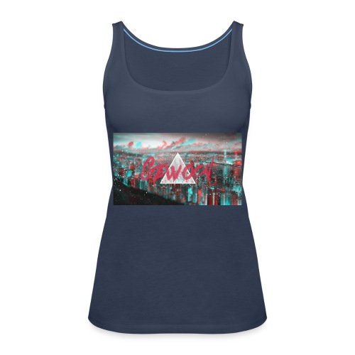 Design Gewoon #1 - Vrouwen Premium tank top