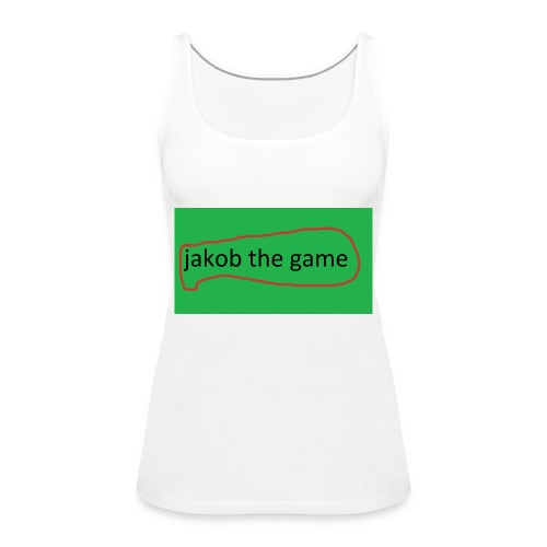 jakob the game - Dame Premium tanktop