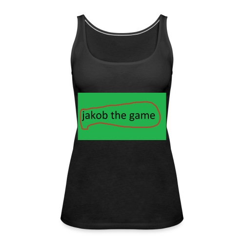 jakob the game - Dame Premium tanktop