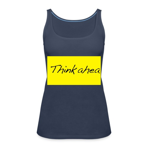 thinkahead - Women's Premium Tank Top