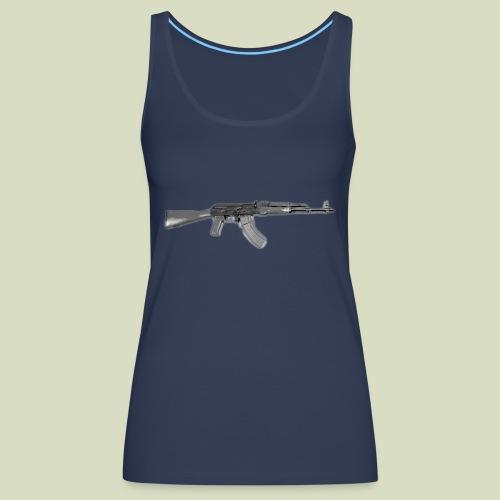 AK - Naisten premium hihaton toppi