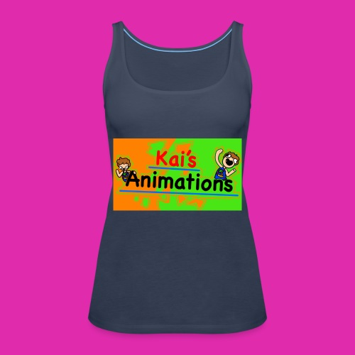 kai's animations logo - Women's Premium Tank Top