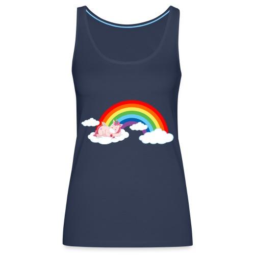 ARCOIRIS UNICORN - Camiseta de tirantes premium mujer