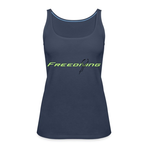 Freediving - Frauen Premium Tank Top