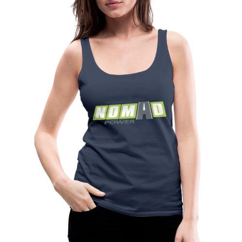 Nomadpower logo zonder wit - Vrouwen Premium tank top