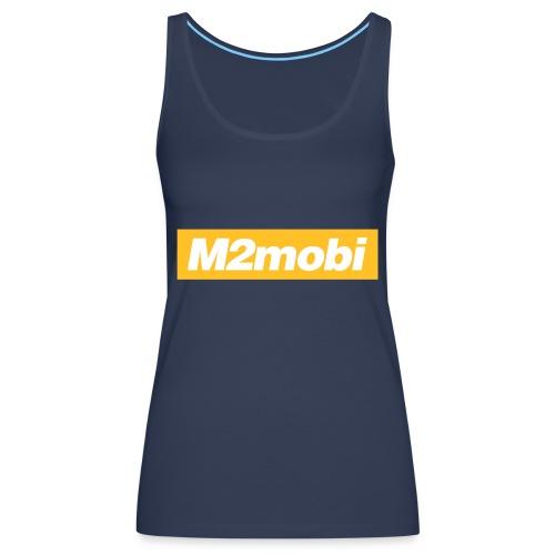 M2mobi oblique 02 - Vrouwen Premium tank top