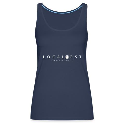 Localhost logo - Naisten premium hihaton toppi