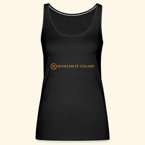 Rudelhilfe Logo - Frauen Premium Tank Top