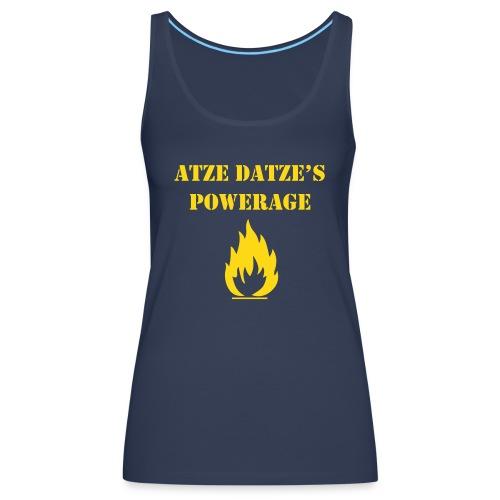 Atze Datze Logo - Frauen Premium Tank Top