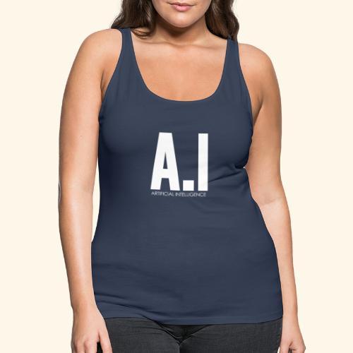 AI Artificial Intelligence Machine Learning - Canotta premium da donna