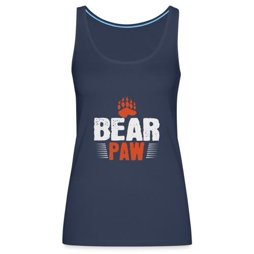 Bear paw - Vrouwen Premium tank top