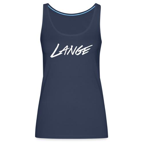 DJLANGE LOGO - Women's Premium Tank Top