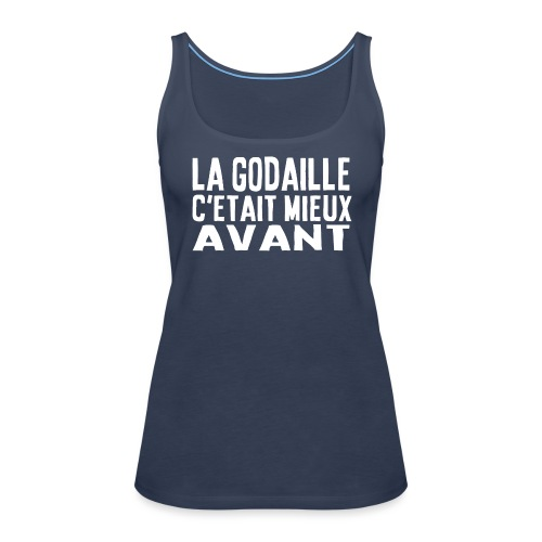 LA GODAILLE - recto/verso - Débardeur Premium Femme