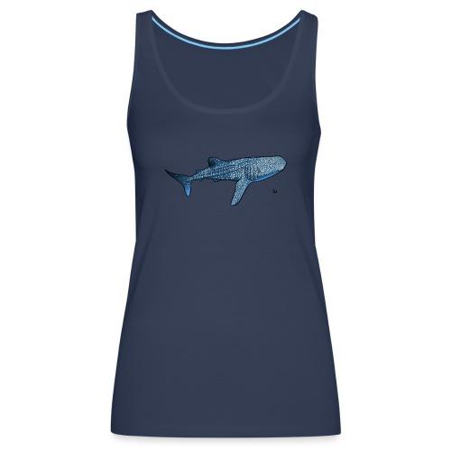 Squalo balena - Canotta premium da donna