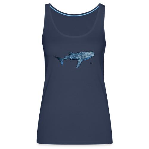 Whale shark - Frauen Premium Tank Top
