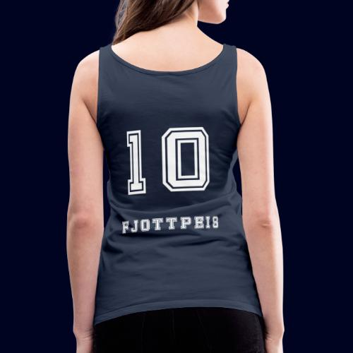 10 Fjottpeis - Premium singlet for kvinner