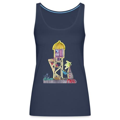 cabanes 2 - Camiseta de tirantes premium mujer