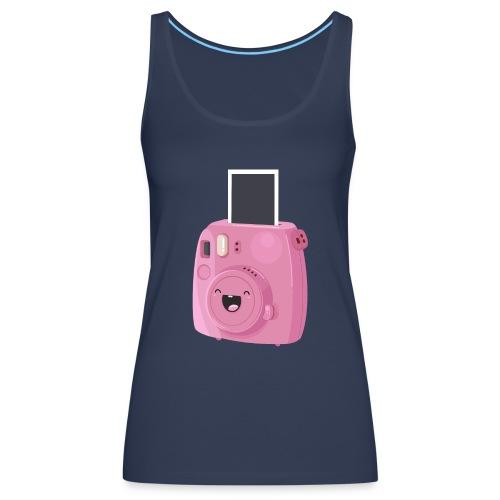 Appareil photo instantané rose - Débardeur Premium Femme