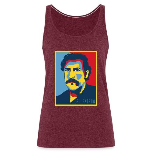 Retro - Camiseta de tirantes premium mujer