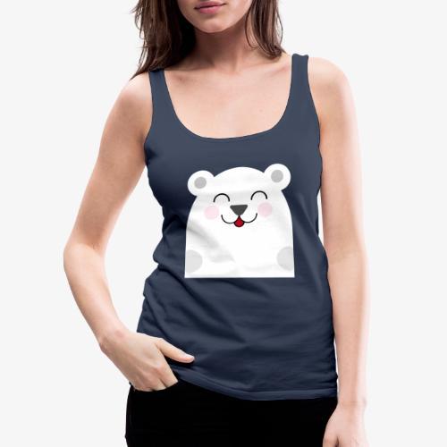 Oso kawaii - Camiseta de tirantes premium mujer